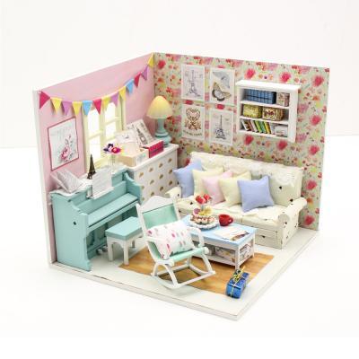 [adico]DIY 미니어처 하우스 - 헤밀라의 방