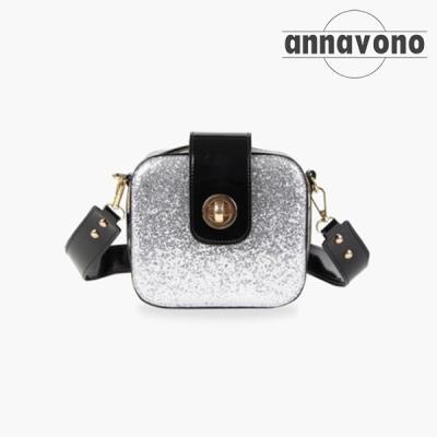 annavono 에나멜 크로스백_A183ENCB04