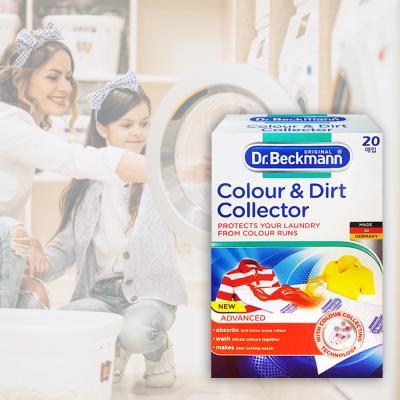 독일 닥터베크만 먼지제거 및 이염방지시트 20매_