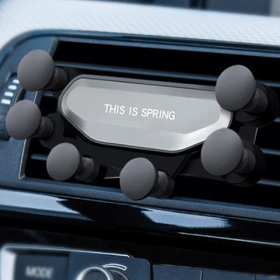 차량용 송풍구 중력거치 쭉쭉이 거치대 트랜디