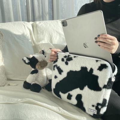 무우스튜디오 밀크 카우 노트북 파우치 13인치