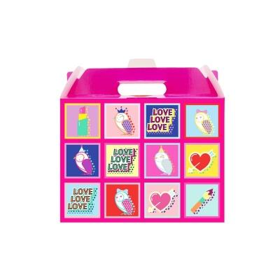어린이화장품 플로릿 핑크 포장상자_선물상자