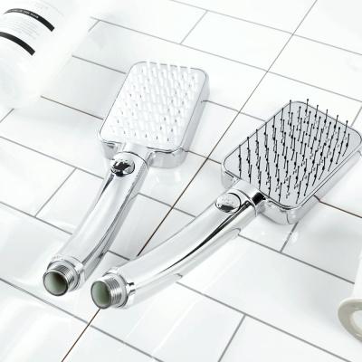 두피 바디케어 사각 브러쉬 온오프 샤워기