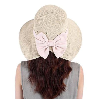 여성 와이어 벙거지 패션 왕골 버킷햇 모자 베이지