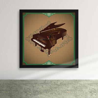 cw043-그랜드 피아노 액자벽시계_디자인액자시계