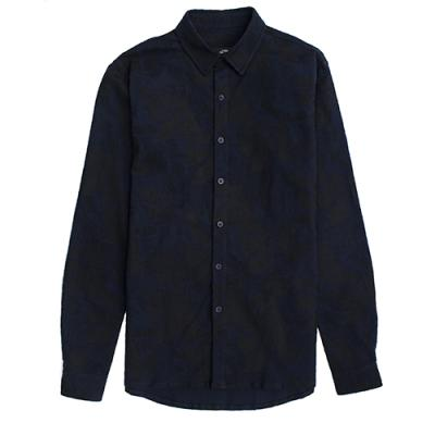 [게타] Getta Camo patterned shirt (navy)