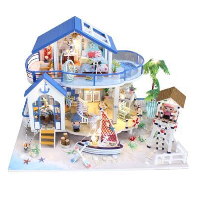 [adico]DIY 미니어처 풀하우스 - 비치 하우스