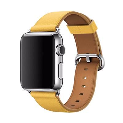 애플워치 밴드 1 2 3 4 5 스트랩 시계줄 투톤 가죽
