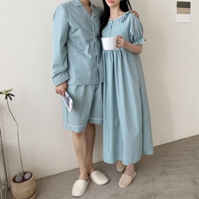 Ella Dress N Pajama Set - 커플룩