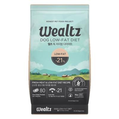 웰츠 독 저지방다이어트 2.1kg 강아지사료