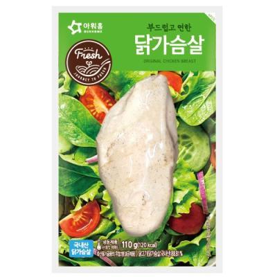 [아워홈] 부드럽고 연한 닭가슴살(110g)