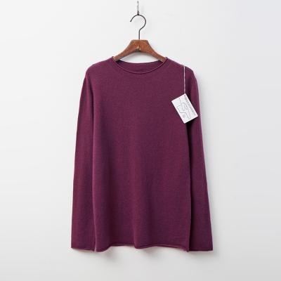 Whole Cashmere Wool Roll Sweater