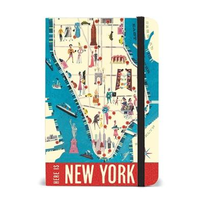 카발리니 스몰 노트북 - 뉴욕맵