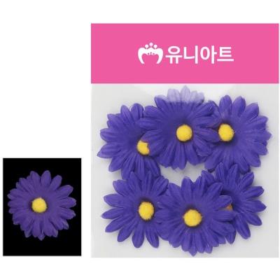 유니아트 (조화꽃) 1500 뿅국화 (진보라