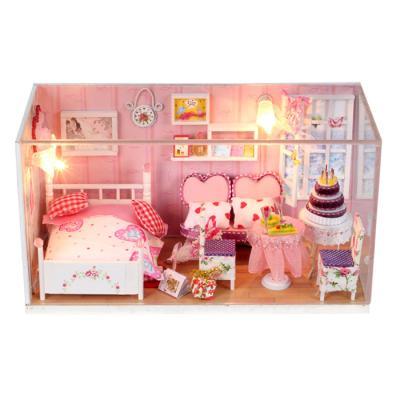 [adico]DIY미니어처 하우스 - 핑크 하트룸