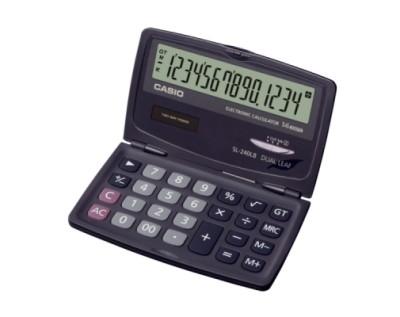 카시오 전자계산기 SL-240LB
