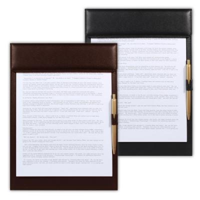 [BEAT] A4 자석클립 오픈형 고급가죽 클립 파일판