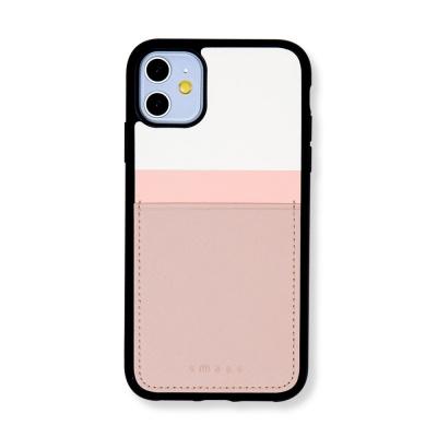 스매스 아이폰11 보호 카드케이스 씨원 리버스_핑크