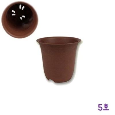 가벼운 토기화분 5호(약 지름14.5x높이13.5cm)