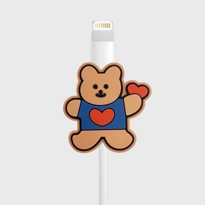 Bear heart(케이블보호캡)