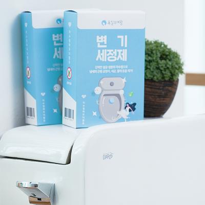 욕실의여왕 대용량 변기클리너 50g*4매입