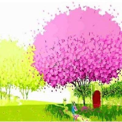 [DIY명화]Q483 행운의나무 size 40*50cm