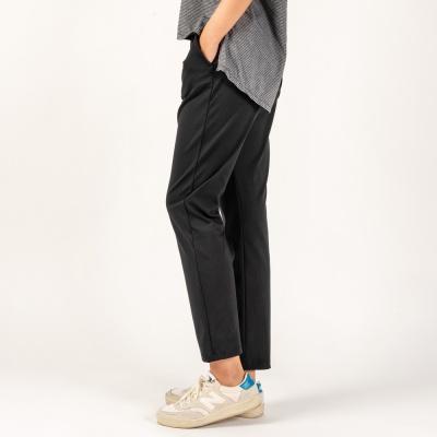 여성 트레이닝복 이지 슬랙스 팬츠 DFW4020 블랙
