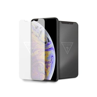 GUESS 로고 아이폰강화유리필름 아이폰11프로맥스