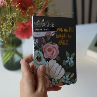 포켓패드 메모패드(shphisticated florals)