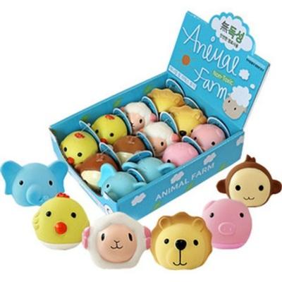 우쭈쭈 강아지 장난감 공놀이 인형 장난감 1개 랜덤