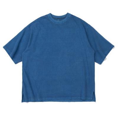 CB 아콘 피크먼트 오버핏 티셔츠 (블루)