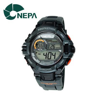 네파 남성용 아웃도어 디지털 시계 N337-BLACK 블랙
