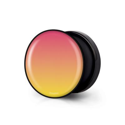샤론6 블랙 원형 그립톡 그라데이션 애플망고