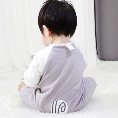 [메르베] 다람쥐 신생아 실내우주복_사계절용