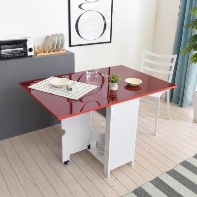 [히트디자인] 윙 하이그로시 800 접이식 테이블