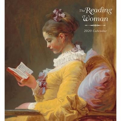 2020 캘린더 책읽는 여인 The Reading Woman