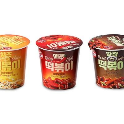 [안심먹거리] 케이밥 떡복이(매운,치즈,짜장)x각2개