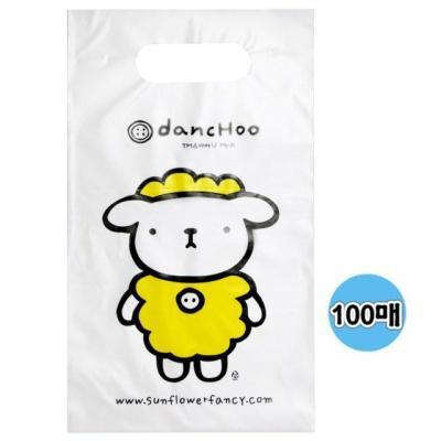 A5 단추봉투(100매입) 비닐 쇼핑백 손잡이 선물용봉투