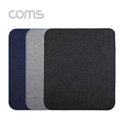 Coms 패브릭 마우스 패드 Black 300 x 250 x 3 (mm)