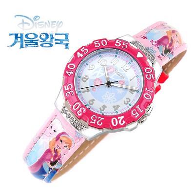 [Disney] 디즈니 겨울왕국 엘사-5 캐릭터 아동용 시계 [본사정품]