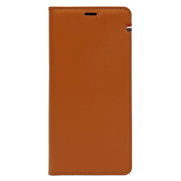 천연소가죽 포인트 플립케이스(아이폰X/XS)