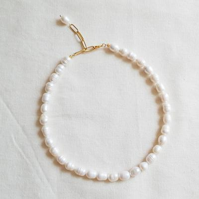 Princess Pearl Necklace - 담수진주
