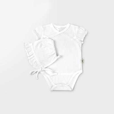 [메르베] 코튼 메쉬 슈트+모자 set_화이트(여)