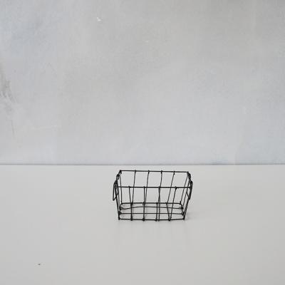 포그린넨 워크(FOG LINEN WORK)_철제 직사각형 바스켓 (3 Size)