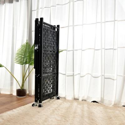홈쇼핑선반 원터치폴딩 이동식 철제 접이식선반(4단)