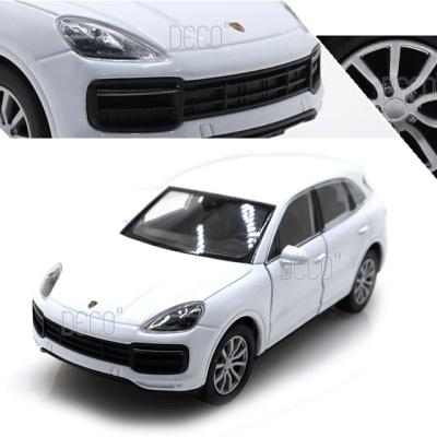 웰리 SUV 포르쉐 카이엔 터보 미니카 다이캐스트