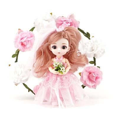 젤레나 16CM 릴리 미니 구체관절인형 여아 장난감