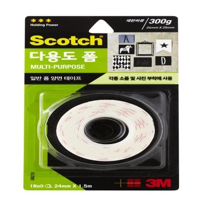 3M 스카치™ 다용도 폼 양면테이프 GN215