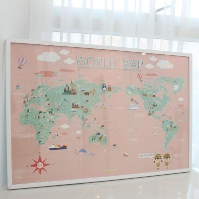 스위트 키즈 아이방 꾸미는 월드맵 어린이 세계지도
