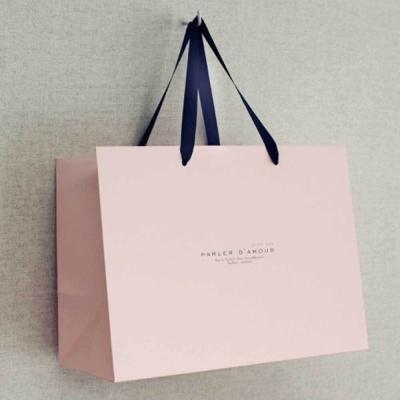 발렌타인 데이 포장 종이 쇼핑백 남친 초콜릿 선물